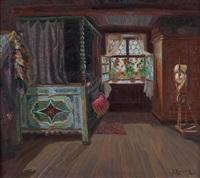 bäuerliches interieur by jakob koganowsky