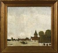le hameau by jacobs (jakob) smits