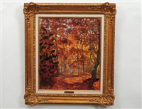 autumn landscape by marie-lucie nessi-valtat