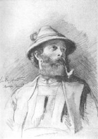 portrait eines bauern aus der meraner gegend by leo reiffenstein