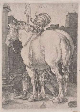 the large horse by albrecht dürer