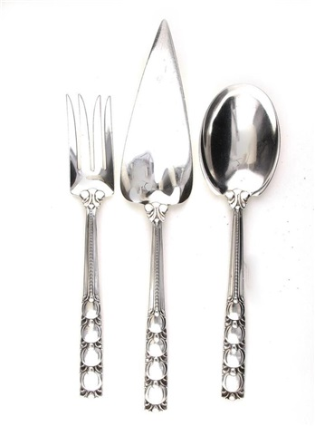 Tiffany Co Silver World S Fair Serving Pieces 3pcs By