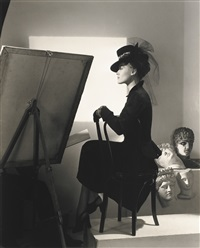 estella boissevain, fashion shot, new york by horst p. horst