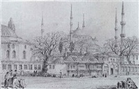 view of istanbul by franz abresch