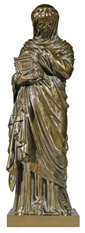 agrippine portant les cendres de germanicus (agrippina carrying the ashes of germanicus) by jacques l. maillet