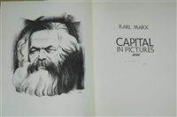 karl marx, capital in pictures (portfolio of 60) by hugo gellert
