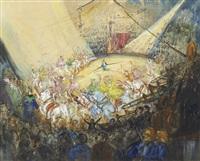 la parade des ecuillières by frank-will