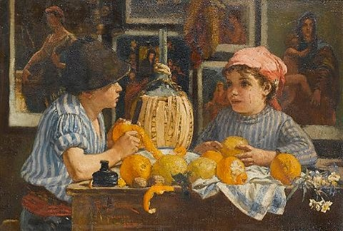 peeling oranges by percy sturdee