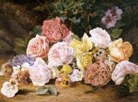 rosas, pensamientos y lilas by manuel espinosa