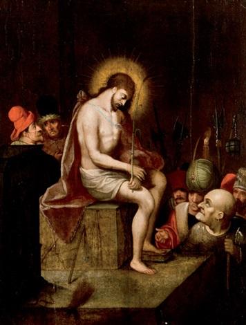 escena del martirio by frans francken the younger