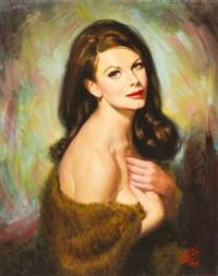 ivan kislinger, miss universe 1954 by earl steffa moran