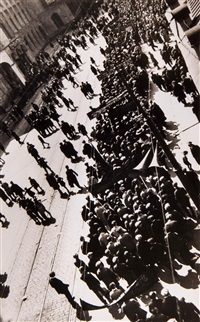 demonstration; untitled (2 works) by alexander rodchenko
