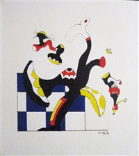 chess olympiad,1976 by otmar alt
