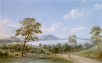 the yan yean from the woodstock road by henry c. gritten