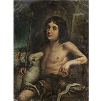 young saint john the baptist by jose de alzibar