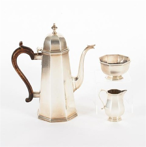 coffee set set of 3 by tessiers ltd