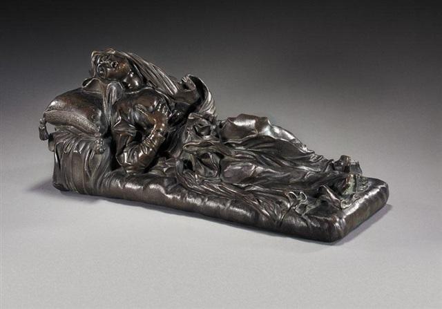 reclining figure of the blessed ludovica albertoni by gian lorenzo bernini