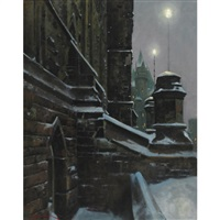soir, east block, ottawa, ont. by alexis arts