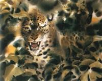 leopard by wolfgang weber