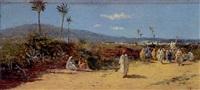 escena orientalista by emilio álvarez ayllón (ayón)