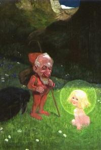 wicht und elfenkind by karl heilig