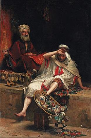 alnaschars fortune arabian nights by william ewart lockhart