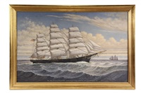 ships portrait 'glory of the seas' by percy a. sanborn