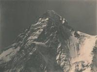 pic du glacier k2 (ou mont godwin-austen), karakoram, himalaya by vittorio sella