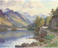 ullswater, the lake district, cumbria by wyndham lloyd