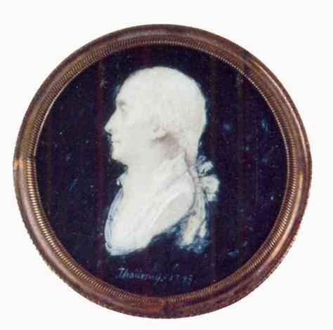portrait dhomme en buste vers la gauche by thouesny
