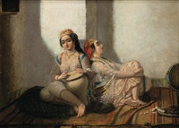deux algéroises dans un intérieur by emmanuel joseph lauret