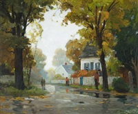wet morning by anthony thieme
