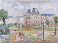jardin des tuileries by bruno emile laurent