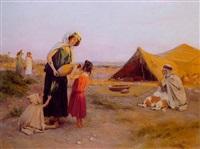 nomades au campement by josé alsina