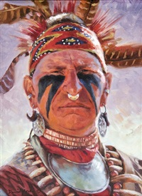 creek indian by david yorke