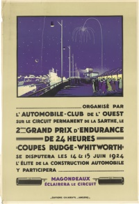 2eme grand prix d'endurance de 24 heures/coupes rudge - whitworth by h.a. volodimer