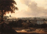 a view of rome by agostino aglio
