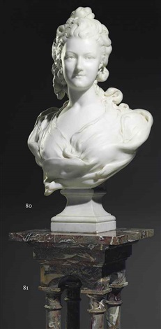 bust of a lady by jean louis gregoire