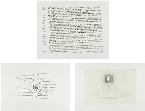 untitled untitled and untitled set of 3 by robert gober