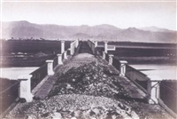 puente del guadalhorce, camino de malaga à alhanrin by j. laurent