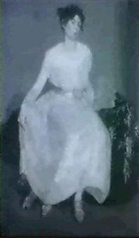 portrait of mrs doris pain by flora lion