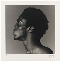 alistair butler, nyc 1980 (planche i du portfolio z) by robert mapplethorpe