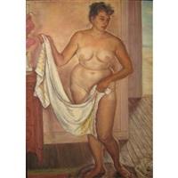female bather by miriam tindall smith