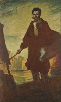 autoportrait by augustus koopman