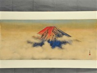 mount fuji by daijo aoki