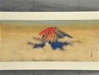 mount fuji by daijo aoki