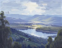 silvan dam by ernest william buckmaster