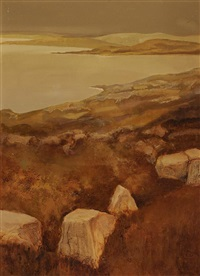 west of ireland seascape by arthur armstrong