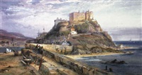 mont orgueil castle, gorey, jersey by richard principal leitch