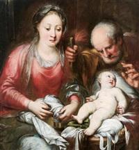 die heilige familie - la sacra famiglia by andrea celesti